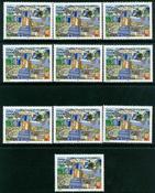 8 x Wallis et l'île de Futuna - YT 565