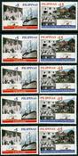 5 x Philippines - YT 2687/8