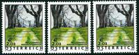 3 x Autriche - YT 2199