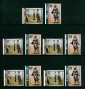 5 x Hongrie - YT 3850/1