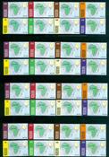 4 x Togo - YT 1860/7