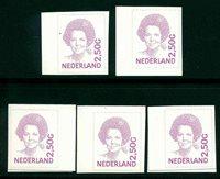 7 x Pays-Bas - YT 1852C