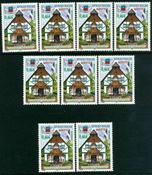 9 x Mayotte - YT 130
