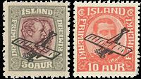 Island - AFA 123-124 - Postfrisk