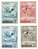 Island - AFA 299-300+315-316 - Postfrisk