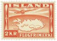 Island - AFA 180 - Postfrisk