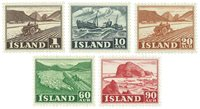 Island - AFA 264-268 - Postfrisk