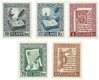 Island - AFA 288-292 - Postfrisk