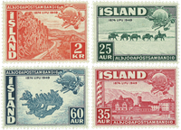 Island - AFA 260-263 - Postfrisk
