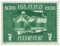 Island - AFA 127 - Postfrisk