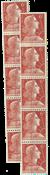 Frankrijk - Strook Marianne 10x, 1955