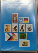 Allemagne de l'Ouest - Livres annuels 1973-2000