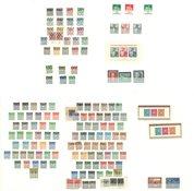 Allemagne - Collection sur cartes de classement