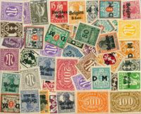 Empire allemand - Lot de doublons neufs