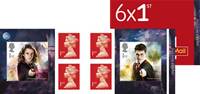 England - Harry Potter - Postfrisk frimærkehæfte