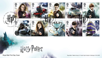 Great Britain - Harry Potter - First Day Cover with set
