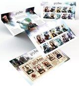 England - Harry Potter - Souvenirmappe med sæt og miniark