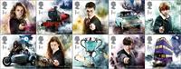England - Harry Potter - Postfrisk sæt 10v