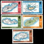 Aurigny - Carte 1989 - Neuf