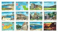 Aurigny - Timbres d'usage courant 1983 - Neuf