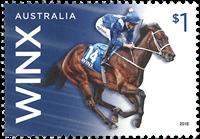 Australie - Winx, Jument de course pur-sang - 1v du carnet