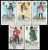 Aurigny - Uniformes militaires 1985 - Oblitéré
