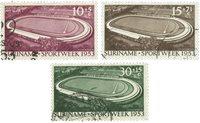 Surinam 1953 - NVPH 309/11 - oblitéré