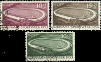 Suriname 1953 - NVPH 309/11 - stemplet