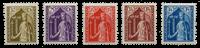 Luxemburg 1932 - Michel 245-49 - Postfris