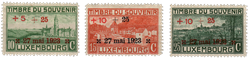 Luxembourg - 1923 - Michel 144/146, neuf