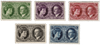 Luxembourg - 1927 - Michel 182/186, neuf