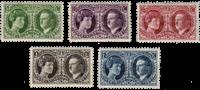Luxembourg 1927 - Michel 182/186 - Postfrisk