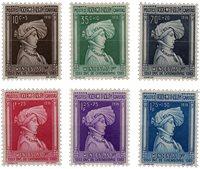 Luxembourg - 1936 - Michel 296/301, neuf