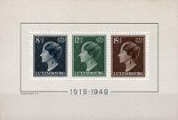 Luxembourg - 1949 - Michel bloc 7, neuf