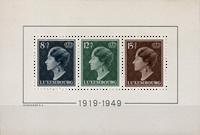 Luxembourg - 1949 - Michel Block 7, neuf