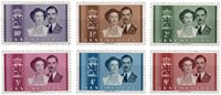 Luxembourg 1953 - Michel 505/510 - Postfrisk