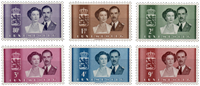 Luxemburg - 1953 - Michel 505-510 - postfris