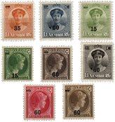 Luxembourg - 1927 - Michel 197/204, neuf