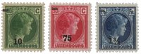 Luxembourg 1929 - Michel 218/220 - Postfrisk