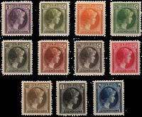 Luxembourg 1926 - Michel 166/176 - Postfrisk