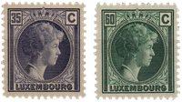 Luxembourg - 1928 - Michel 205/206, neuf