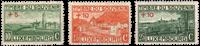 Luxembourg 1921 - michel 137/139 - Postfrisk