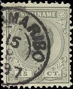 Surinam 1873-1889 - NVPH 8 - oblitéré