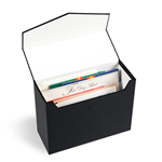 Boîte rangement LOGIK Mini A5, noir