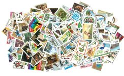 Rwanda - 529 forskellige utakkede postfriske frimærker