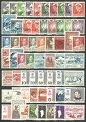 Grønland  - 60 frimærker - postfrisk