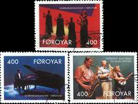 Færøerne - AFA 235-237 - Stemplet sæt
