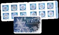 Frankrig - Snefnug - Postfrisk frimærkehæfte