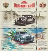 Estland - Monte Carlo - Postfrisk miniark