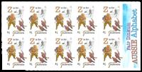 Australien - Alfabetet Z - Postfrisk hæfte Z